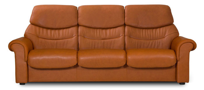 Stressless Liberty High Back 3 Seater Sofa - Stressless
